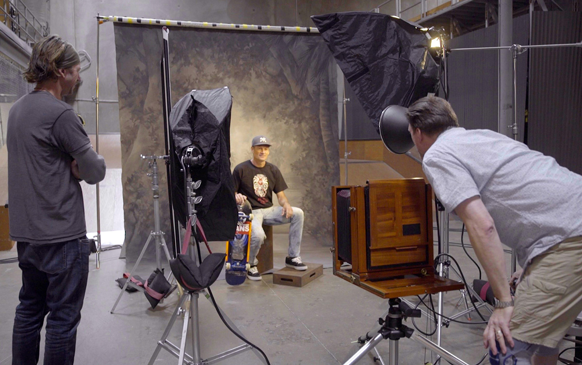 Frank Vena - Behind the Scenes - Photographing Mike McGill