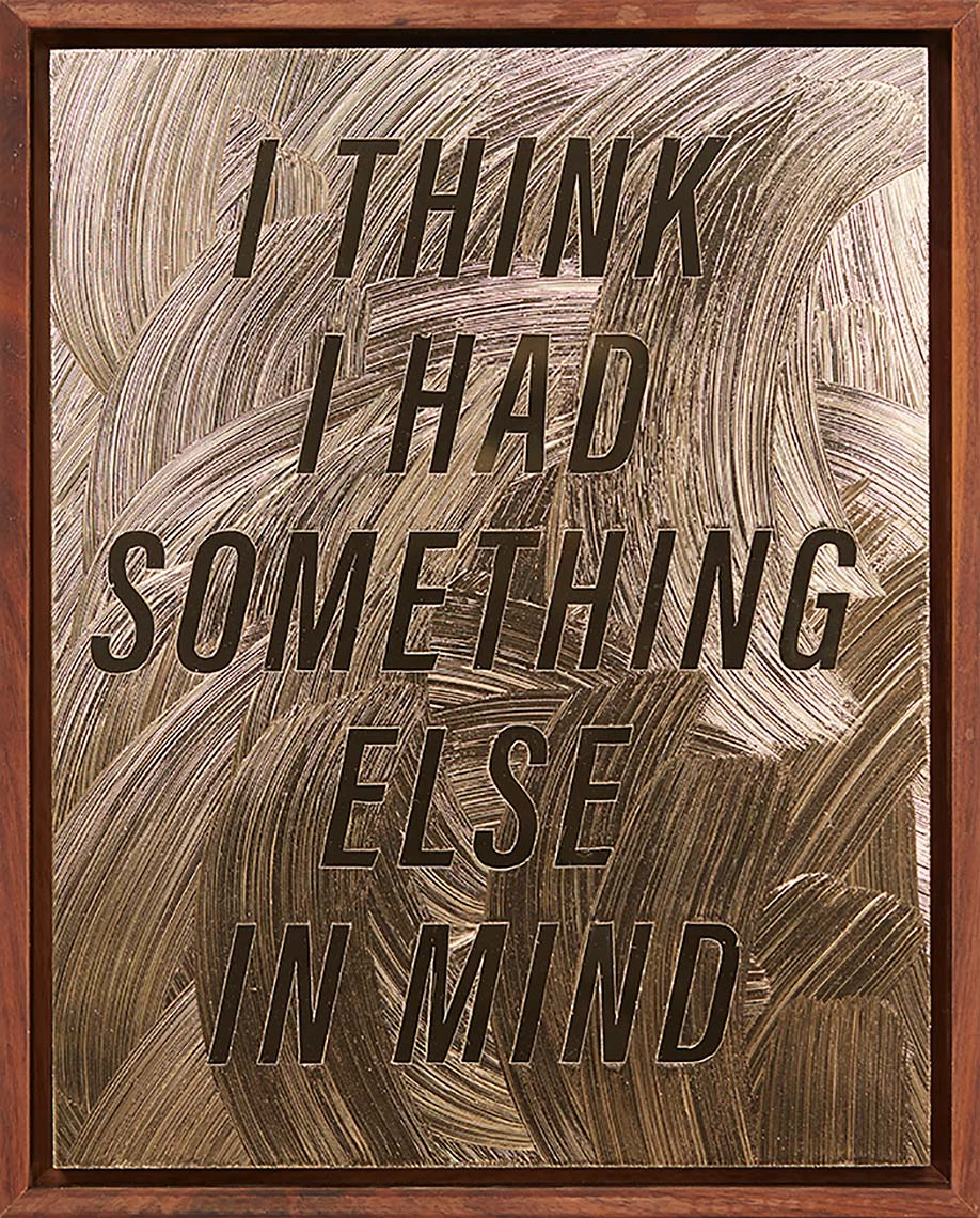 I-THINK-I-HAD-SOMETHING-ELSE-IN-MIND-2018-acrylic-gel-medium-on-gold-Alupanel_12X9inches