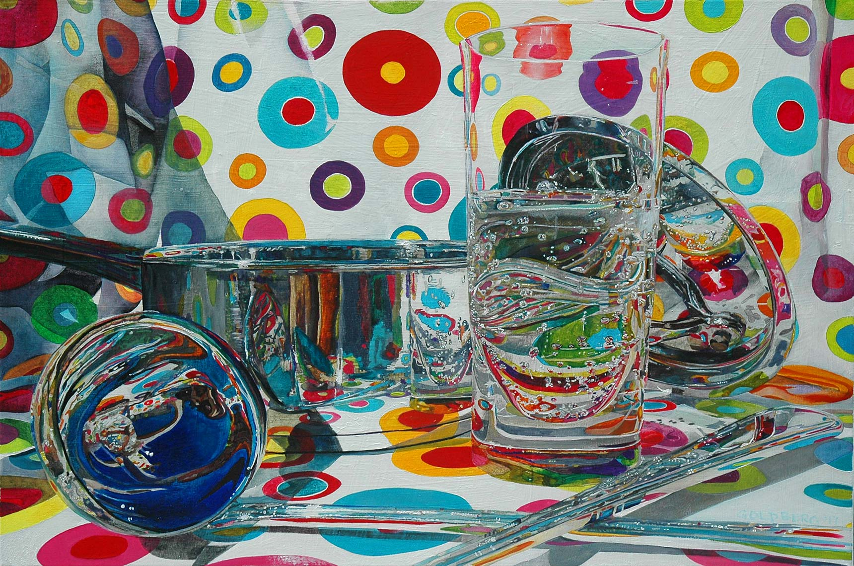 Kitchen-Utensils-Poolside-24x36-Oil-on-Canvas-2017