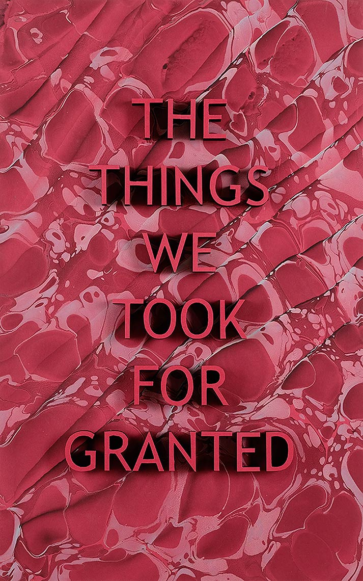 The-Things-We-Took-For-Granted_2018_hang-marbled-acrylic-on-paper-laser-cut-MDF_14-x-22.5